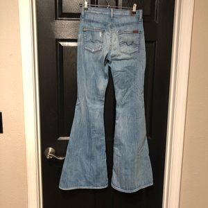 seven for all mankind bell bottom jeans